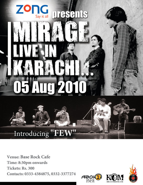 Mirage Live in Concert
