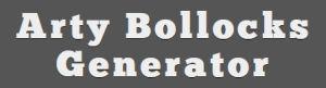 Arty Bollocks